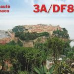 QSL card from 3A/DF8DX